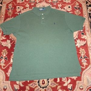 Polo by Ralph Lauren Shirts - Polo by RL Polo Shirt | Heather Green Camo | XXL